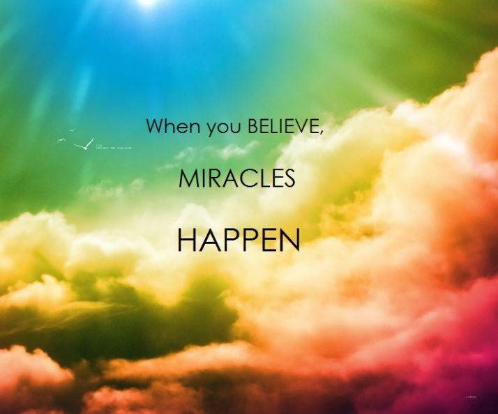 QuoteBelieveMiracles