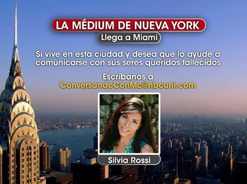 News | Silvia Rossi ---- Psychic Medium